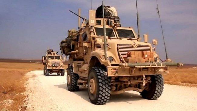 Koalisyon'dan Rojava'ya askeri yardım sevkiyatı