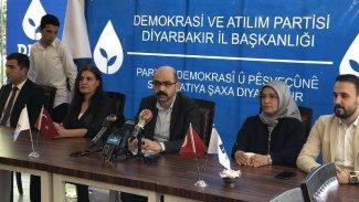 DEVA Partisi Diyarbakır İl Başkanı: Kürt meselesini çözüp tarihe geçmek istiyoruz