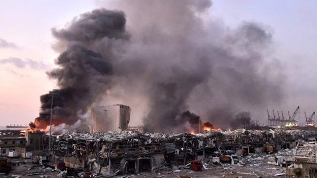 Lübnan Cumhurbaşkanı: Patlamaya füze veya bomba neden olmuş olabilir