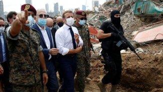 Macron: Fransa rolünü oynamazsa Türkler ve diğer güçler Lübnan'ın iç işlerine karışacak