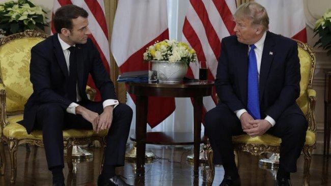 Trump ve Macron Lübnan'ı görüştü