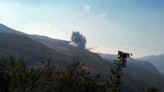 Türk savaş uçakları Duhok'ta 3 bölgeyi bombaladı