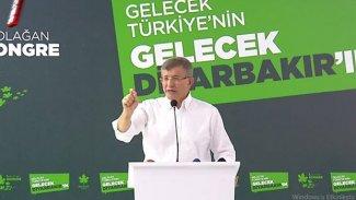 Ahmet Davutoğlu, Diyarbakır'da iddialı konuştu