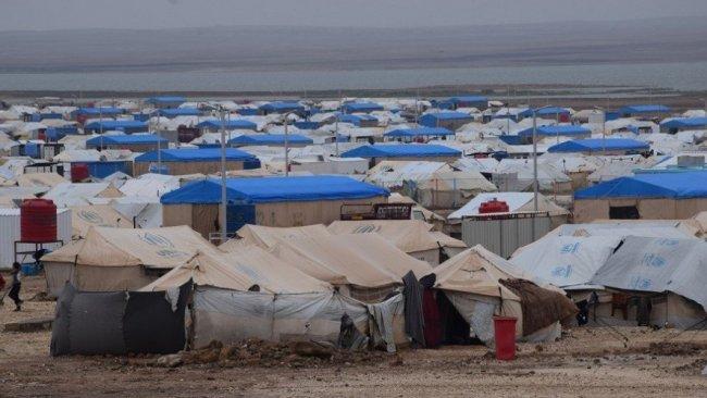 Rojava'da Erişe Kampı'nda yangın