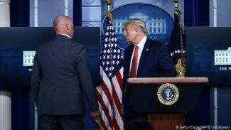 Beyaz Saray'da saldırı alarmı! Trump acilen toplantıdan çıkarıldı
