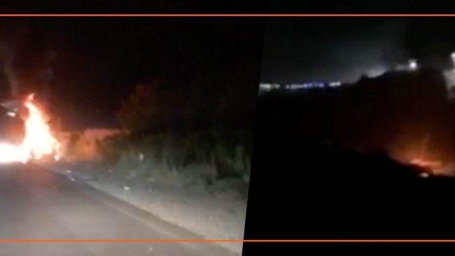 Türk savaş uçakları Duhok'ta bir aracı vurdu: 4 kişi hayatını kaybetti