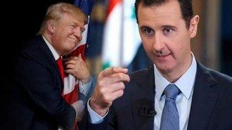 Trump, Esad'a mektup yazdı ve yardım istedi