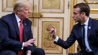 Trump ve Macron'dan Doğu Akdeniz görüşmesi