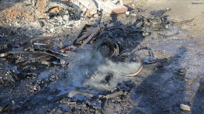 Bab'da SMO aracına bombalı saldırı