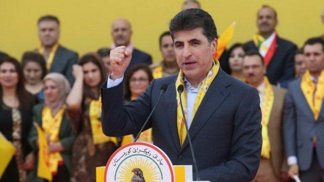 Neçirvan Barzani: KDP, Kürdistan halkının meşru hakları için kuruldu