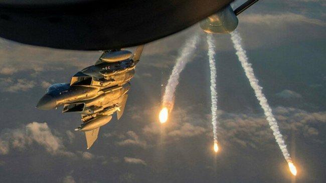 ABD uçakları Suriye Ordusu'nu bombaladı!