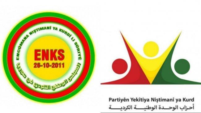 ENKS ile PYNK ortak 'Siyasi Karar Mekanizması' üzerinde anlaştı