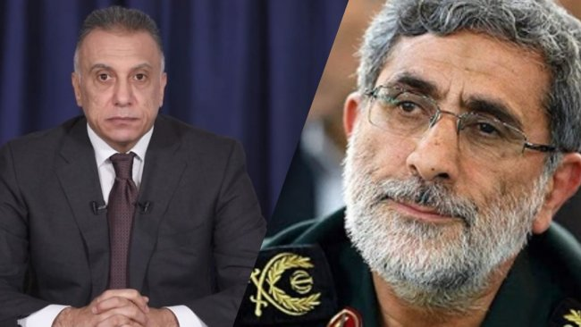 'Irak Başbakanı Kazımi, ABD ziyareti öncesi DMO Komutanı ile görüştü'