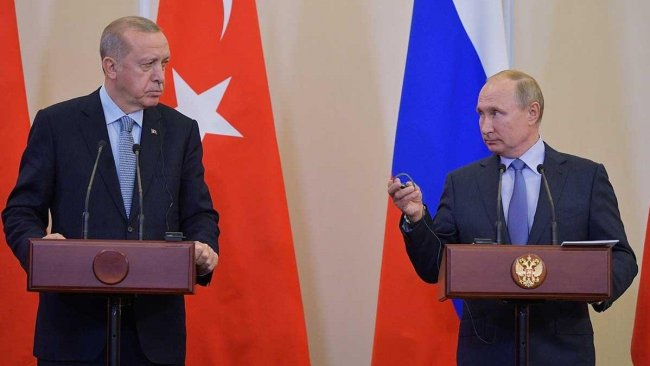 Putin ve Erdoğan arasında Libya-Suriye görüşmesi