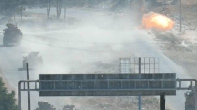 Rus-Türk ortak devriyesine bombalı saldırı