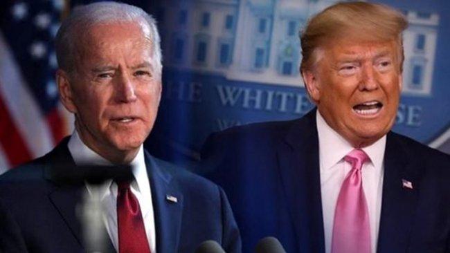 ABD başkanlık yarışında Joe Biden, Trump'ın 9 puan önünde ...
