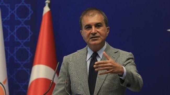 Ömer Çelik: Biden'ın sözlerinde Kürt vatandaşlarımıza yönelik büyük bir saldırı var