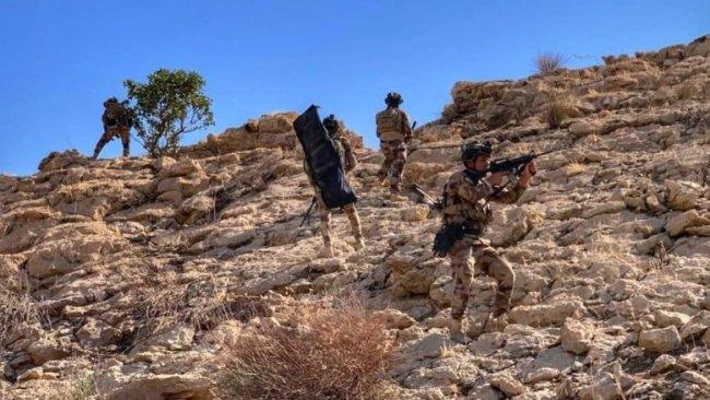 Qereçox Dağı'nda IŞİD'e operasyon