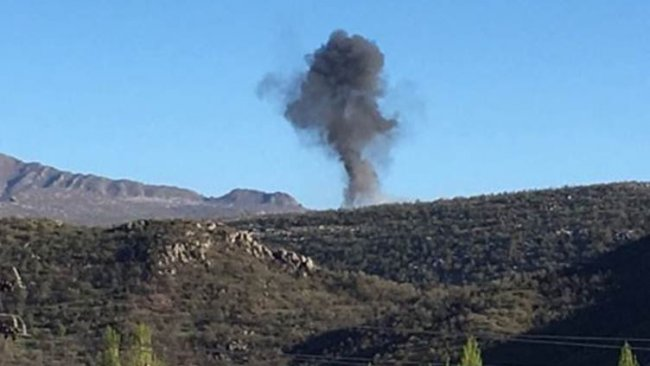 TSK'dan Amedi'de bombardıman
