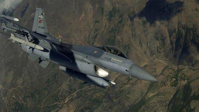 Türk savaş uçakları Akre sınırını vurdu!