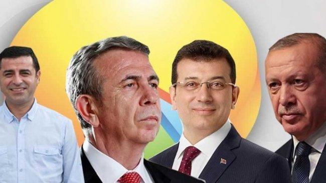 Optimar Araştırma'dan Cumhurbaşkanlığı anketi: İşte Erdoğan'ın en güçlü rakipleri...
