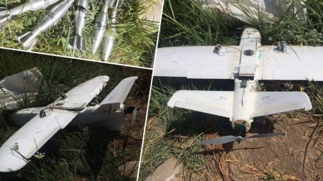PKK'den askerlere drone'lu saldırı girişimi
