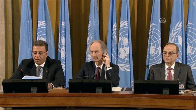 Suriye Anayasa Komitesi toplantıları yeniden başlıyor