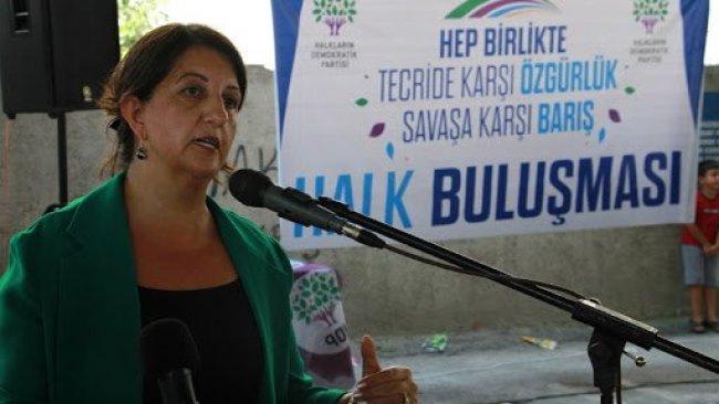 Buldan: Kürt sorunu sadece Hakkari'nin, Diyarbakır'ın bir sorunu değildir