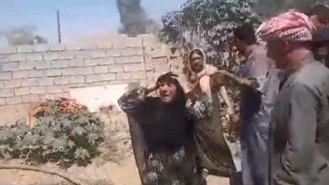 Kürt ailenin evini ateş verdiler