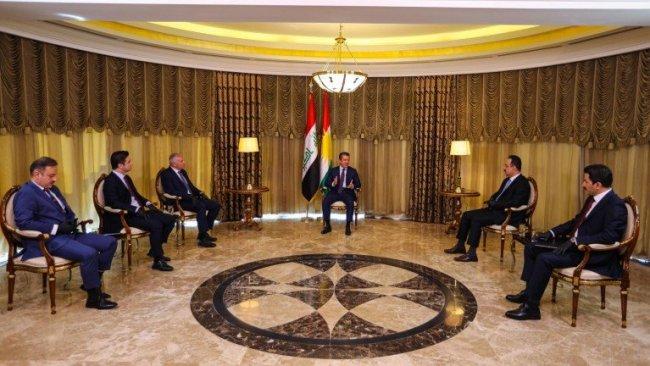 Başbakan Barzani: Irak Anayasası'ndaki haklarımızdan taviz vermeyeceğiz