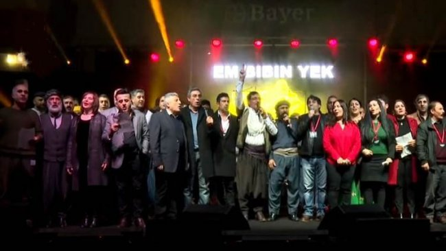 Kürt sanatçılardan birlik çağrısı: