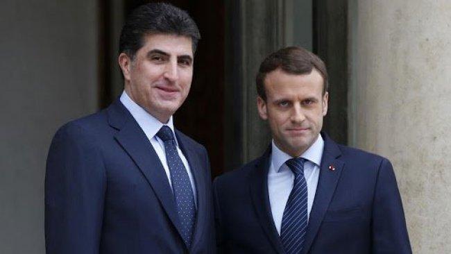 Başkan Neçirvan Barzani ile Macron bir araya gelecek