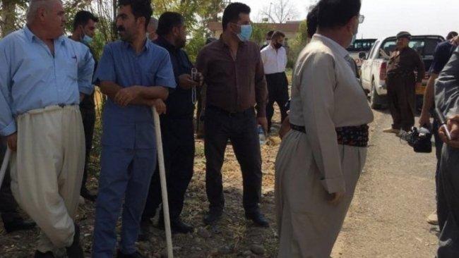 Kürt çifçilere ait tarlaları işgal etmek isteyen Araplara kaşı Kürtler ayaklandı