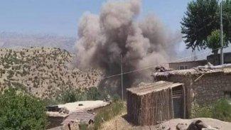 Türkiye, Doğu Kürdistan'ın sınır köyünü bombaladı