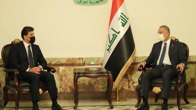 Neçirvan Barzani ile Mustafa Kazimi görüştü