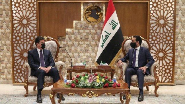 Neçirvan Barzani, Muhammed Halbusi ile bir araya geldi