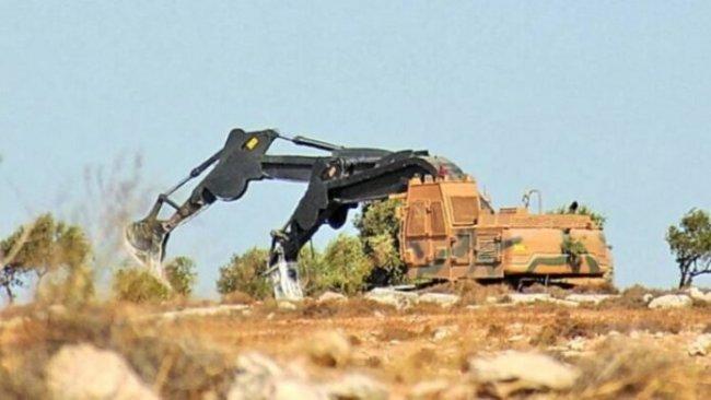 Silahlı gruplardan Rojava'da antik tepede tahribat!