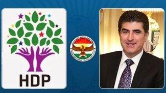 HDP'den Neçirvan Barzani'nin Ankara ziyareti hakkında açıklama