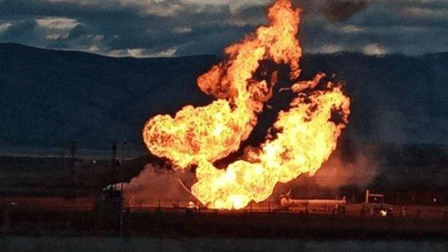 İran'da kimyasal gaz taşıyan kapsül patladı, yetkililer 'bölgeye yaklaşmayın' uyarısı yaptı!