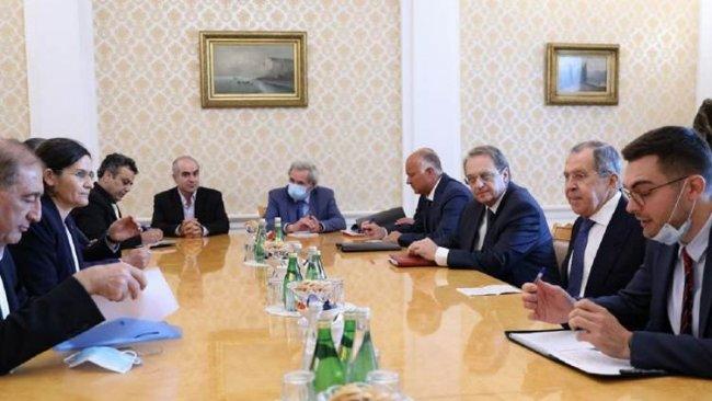 Lavrov'dan Rojava heyetine 'Türkiye' sözü