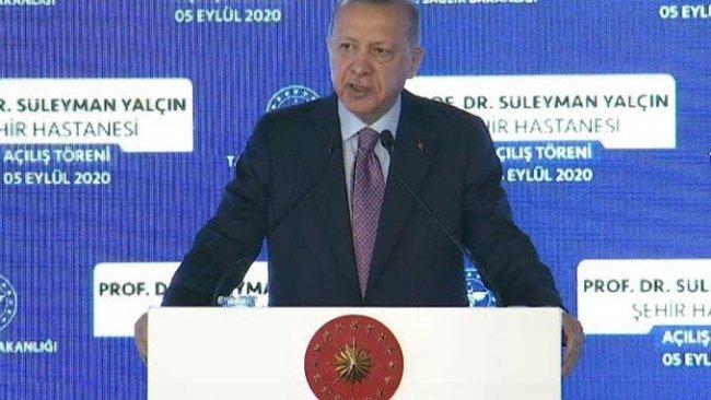 Erdoğan'dan Doğu Akdeniz mesajı: Ya diplomasiyle ya sahada acı tecrübeyle anlayacaklar