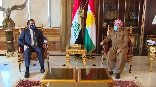Başkan Barzani Irak Parlamentosu Başkanı'yla görüştü