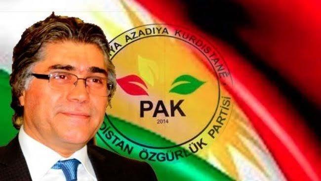 PAK Genel Başkanı Özçelik: Güney Kürdistan Federe Devleti'ni Sahiplenelim