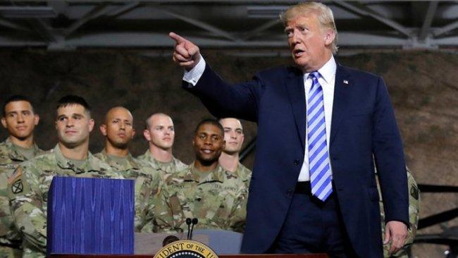 Trump: Pentagon'un başındakiler beni sevmiyordur, savaştan başka bir şey istemiyorlar