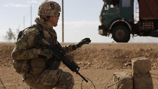 Bağdat'ta Uluslararası Koalisyon güçlerine ait konvoya saldırı