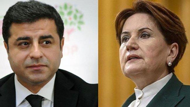 Abdulkadir Selvi'den Demirtaş ve Akşener iddiası!