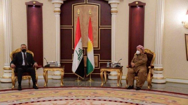 Başkan Mesud Barzani, Kazimi'yi kabul etti