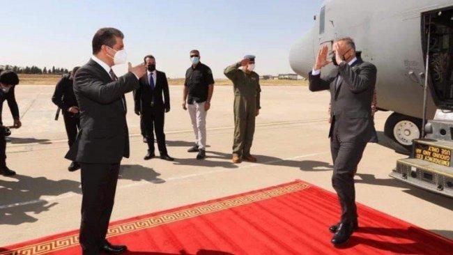 Irak Başbakanı Kazımi Erbil'de
