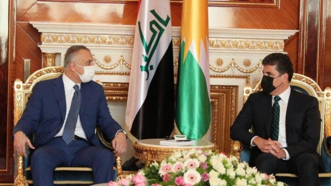 Barzani ve Kazımi Erbil-Bağdat müzakerelerinin önemini vurguladı