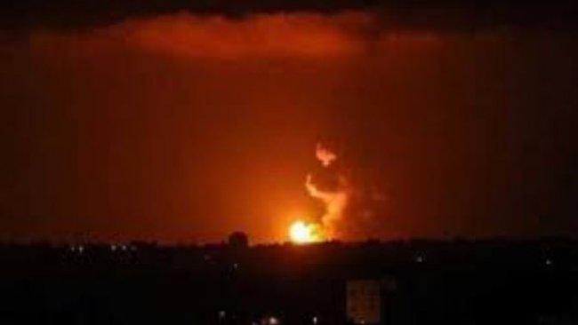 Tahran'da şiddetli patlama